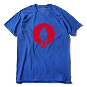 Red Sunset Nomad cotton T-Shirt