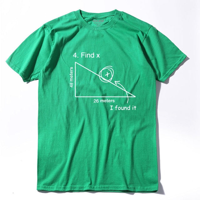 New Math 100% cotton T-shirt