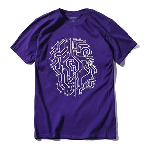Circuit Head - 100% cotton short sleeve T-Shirt