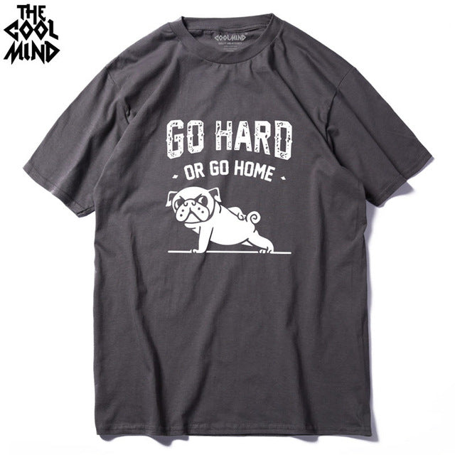 Go Home Or Go Hard Pug T-Shirt