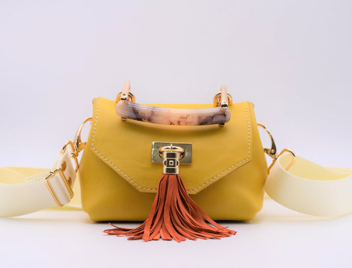 Mini TB Crossbody (Yellow)
