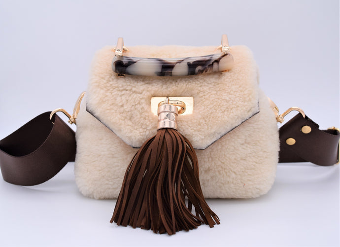 Mini TB Crossbody (Sheepskin)