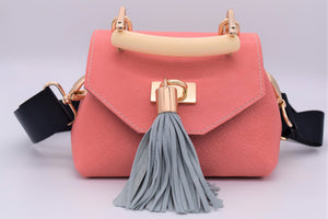 Mini TB Crossbody (Coral)
