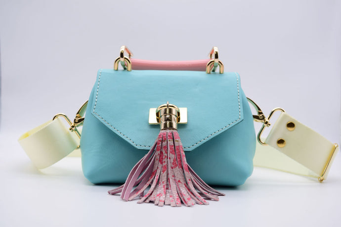 Mini TB Crossbody (Baby Blue)