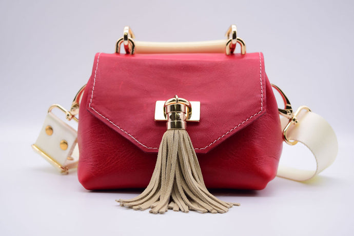 Mini TB Crossbody (Red)