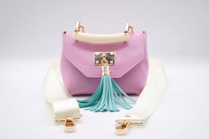 Mini TB Crossbody (Pink)