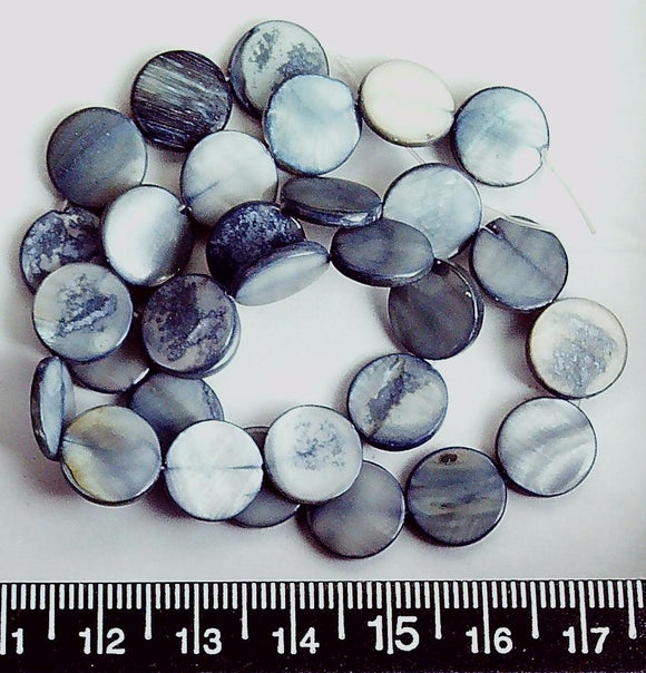 """15/"""" Strands Dyed Glass Pearl Oval Jewellery Beads Mixed Color Choice of Size"""