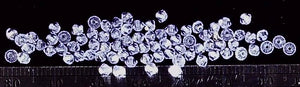 Swarovski crystal tanzanite 2mm bicone 80 bead lot
