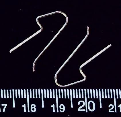 Sterling silver ear wires (1 pair/2 total)