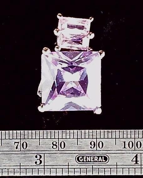 Crystal and sterling pendant (1)