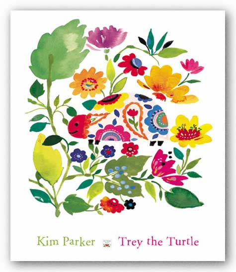 Trey the Turtle by Kim Parker