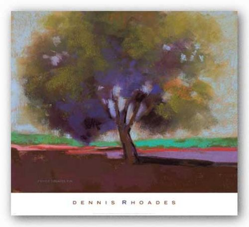 Twilight Oak IV by Dennis Rhoades