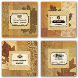 Wine Labels Set by Paula Scaletta
