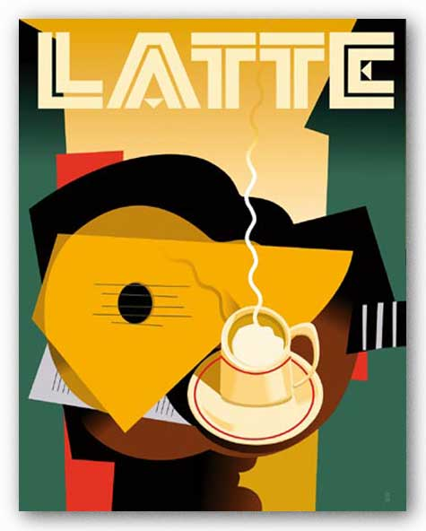 Latte by Eli Adams