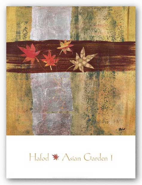 Asian Garden I by Danielle Hafod