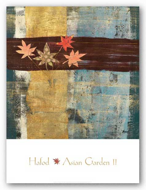 Asian Garden II by Danielle Hafod