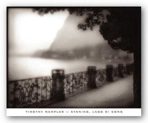 Evening, Lago di Como by Timothy Wampler