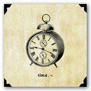 Office Clock by Paula Scaletta