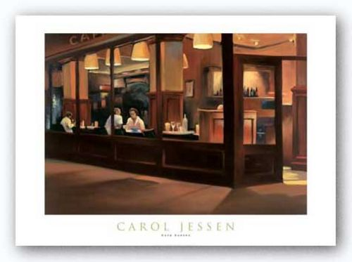 Cafe Europa by Carol Jessen