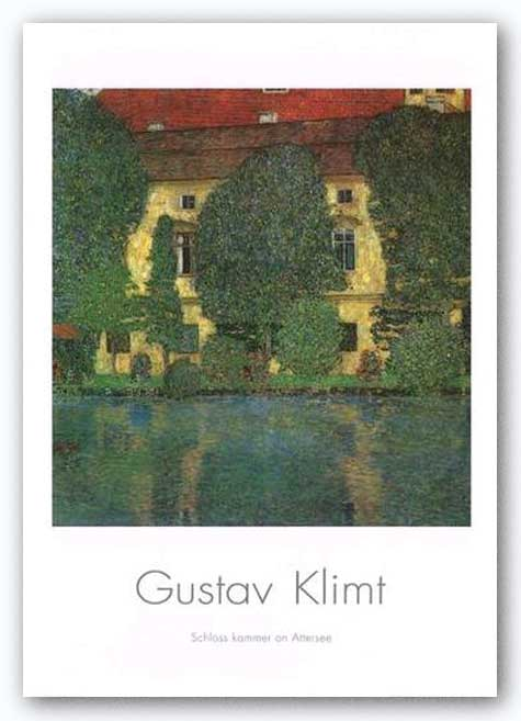 House On The Attershee I by Gustav Klimt