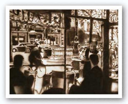 Vintage Cafe I by Weil