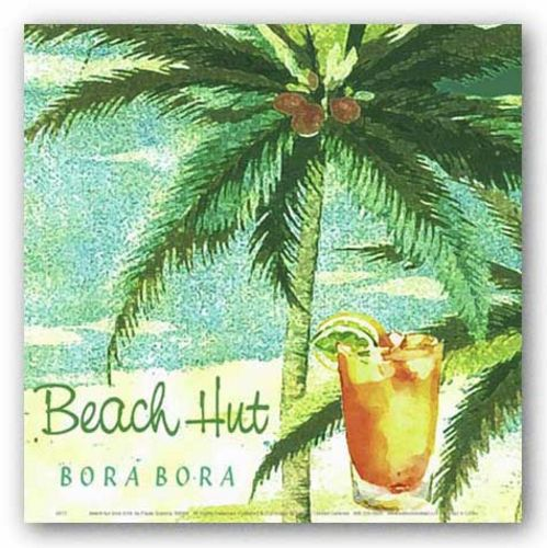 Beach Hut by Paula Scaletta