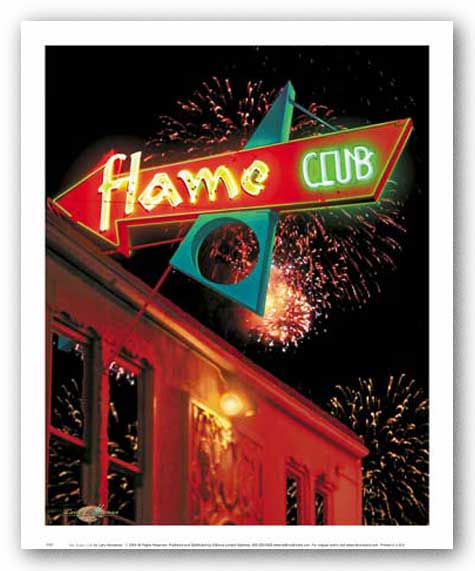The Flame Club by Larry Grossman