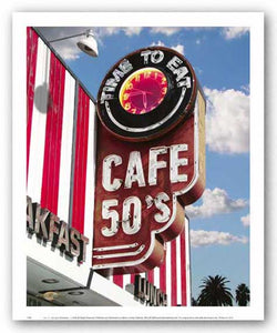 Cafe 50's by Larry Grossman