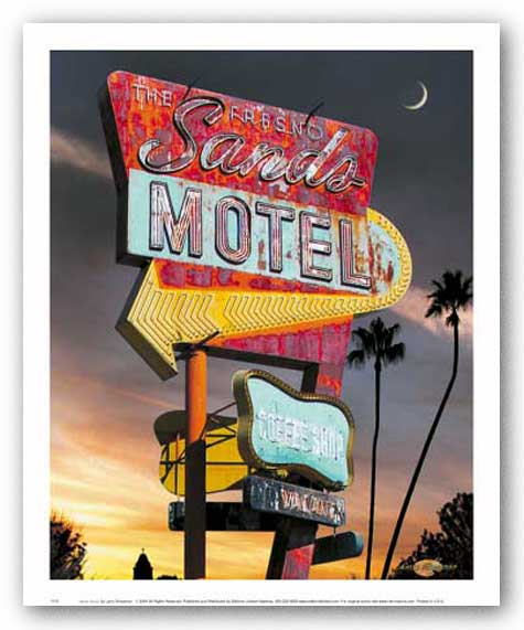 Sands Motel by Larry Grossman