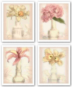 Lovely Flowers Set by Donna Geissler