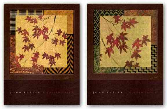 Golden Tree Set by John Butler