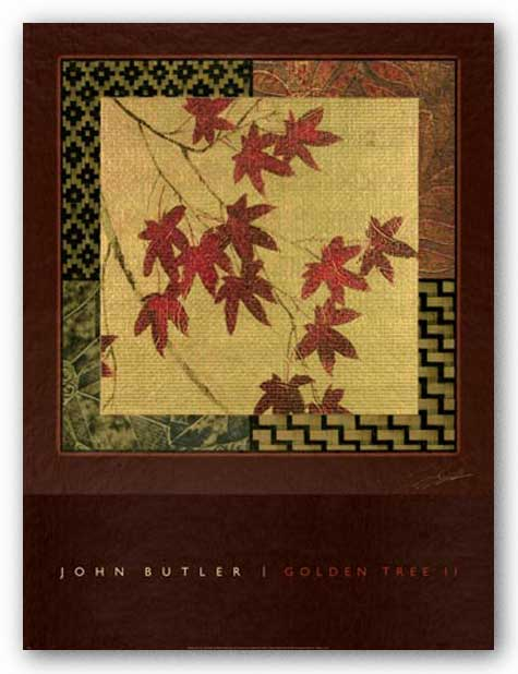 Golden Tree II by John Butler