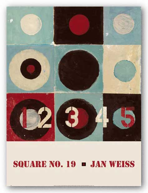 Square No. 19 by Jan Weiss