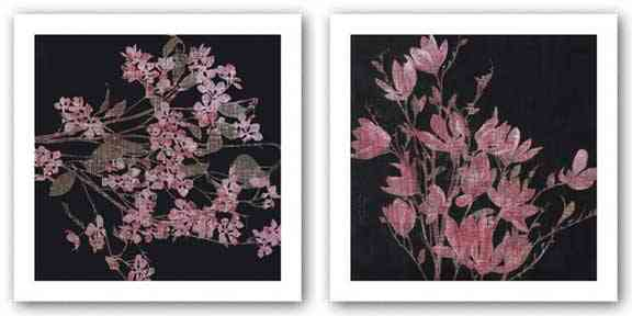 Magnolia, 2005 and Blossom Branch, 2005 Set by Maryam Amiryani