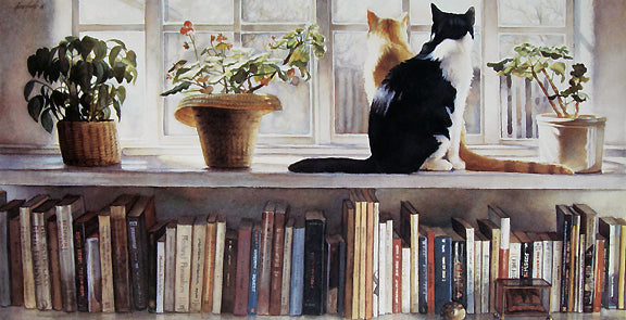 Bookends  by Steve Hanks