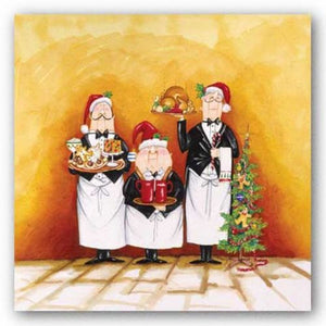 Christmas Waiters by Tracy Flickinger