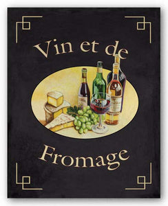 Vin Et De Fromage by Catherine Jones
