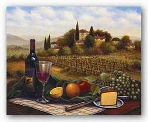 Terrace At Chianti by Joe Sambataro