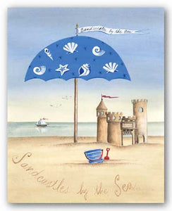 Sandcastles By The Sea by Katharine Gracey