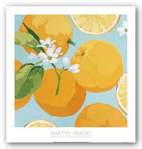 Fresh Oranges by Martha Negley