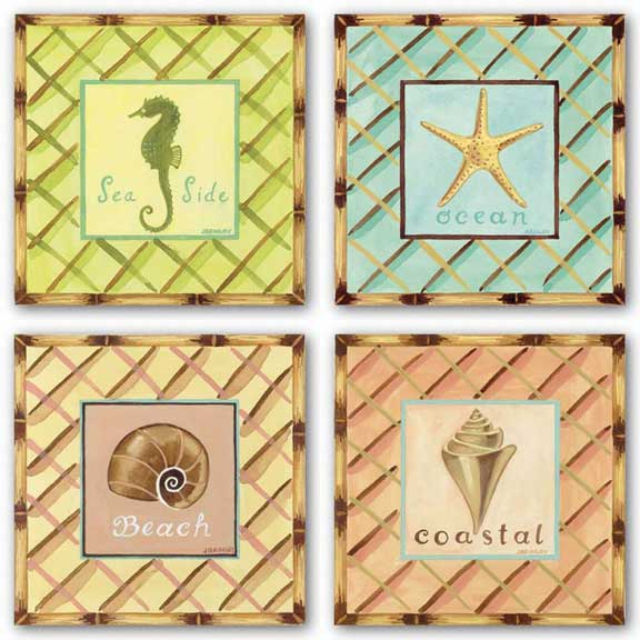 Coastal Set by Jennifer Brinley