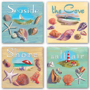 Salt Air, Seaside, The Cove, and Shore Set by Geoff Allen