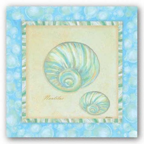 Bubble Bath Shells I by Grace Pullen