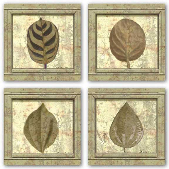 Classic Leaf Square Set by Pierre Fortin