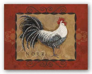 Rooster Noir by Shari Warren