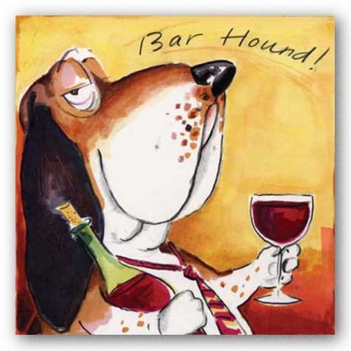 Bar Hound by Tracy Flickinger