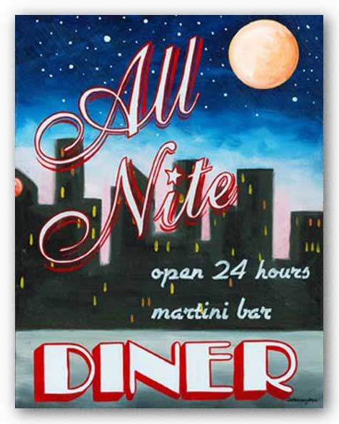 All Nite Diner by Catherine Jones