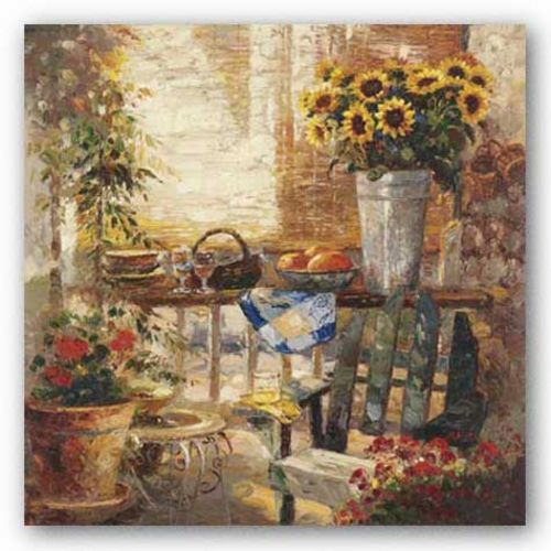 Trina's Potting Bench by R. Hong
