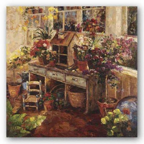 Michelle's Potting Bench by R. Hong