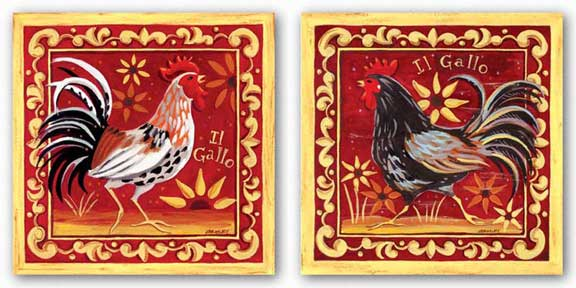 Il Gallo Set by Jennifer Brinley